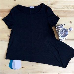 GAP Black TShirt Tunic
